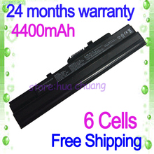 JIGU Black 6 Cells Laptop Battery FOR MSI  Mini  E1210 FOR MSI Wind U100 14L-MS6837D1 6317A-RTL8187SE BTY-S11 TX2-RTL8187SE