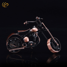 Wholesale/Retail European Style Metal Craft Motorcycle Model Iron Mini Motorbike Model Distinct Sports Gifts(China)
