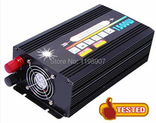 1500W 12V/24VDC 110V/220VAC Pure Sine Wave Solar Inverter or Wind Inverter, Surge Power 3000W, Single Phase PV Inverter with CE