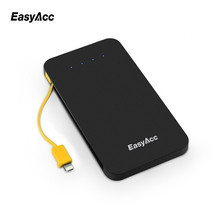 EasyAcc 5000mah power banks Li-polymer Micro-USB Portable Mobile Phone Charger Powerbank For iPhone 7 6 6s Xiaomi mi5 Redmi3