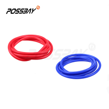Universal Car Vacuum Silicone Hose 2 Meter 3mm/4mm/6mm/7mm Vacuum Tube Pipe Line Blue Red Colors Tubing For Choose