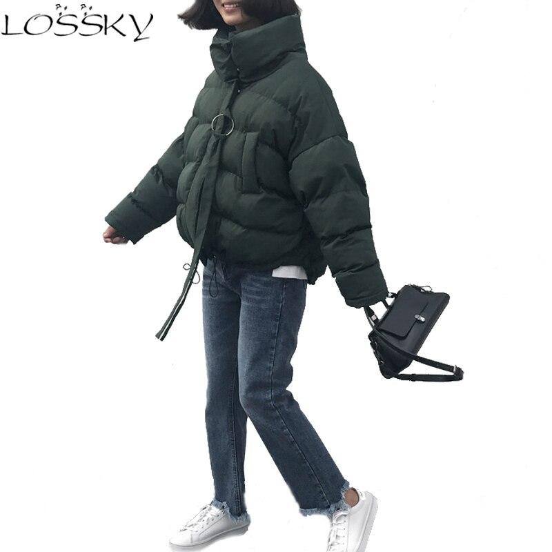2017 Winter Female Outerwear Women Wadded Jacket Woman Cotton-padded Bread Service Casual Coats New Fashion Plus Size ClothingÎäåæäà è àêñåññóàðû<br><br>