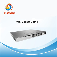 Network Switches WS-C3850-24P-S PoE IP Base Core Managed Switches