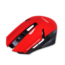 Professional Wireless Mouse 6 Buttons Computer Mouse 2000DPI High Quality Gaming Mouse With 2.4GHz USB Receiver(China)