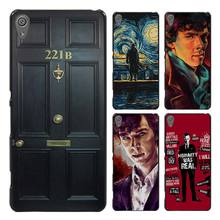 sherlock holmes Style Case Cover for Sony Ericsson Xperia X XZ XA XA1 M4 Aqua E4 E5 C4 C5 Z1 Z2 Z3 Z4 Z5(China)