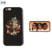 MIGOS CULTURE  lyrics phone cases TPU+PC black for iPhone 6 7 plus 5 5s se  for apple  personalised High Quality covers