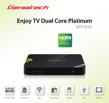 HDMI in Geniatech Enjoy TV Dual Core MyGica ATV1610 with HDMI IN Android TV Box Google android tv XBMC(China)