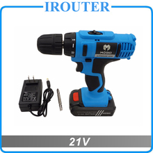 MOSKI , 2017 NEW 21V DC New Design Mobile Power Supply Lithium Battery Cordless Drill/Driver Power Drill Tools Electric Drill