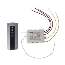 Wireless 2 Channel ON/OFF Lamp Remote Control Switch Receiver Transmitter #H028#(China)