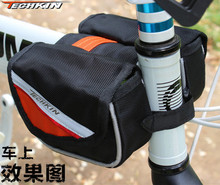Factory production 20313 TECHKIN the hypotenuse of a triangle in front seat frame tube sided bag saddle bag
