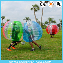 Free shipping 0.7mm TPU 1.8m diameter indoor bubble soccer,bubble football,giant inflatable ball for big heavy players