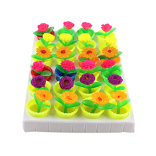 Growing In Water Bulk Swell Flower And Pot Various kinds Expansion Toy Colorful Puzzle Creative Magic Toys Decoration