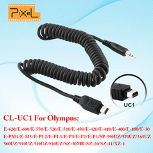 Wireless Remote Control Shutter Release Cable PIXEL CL-UC1 For Olympus E620 E550 E520 E510 E450 E420 E410 E400 E300 E100 E30