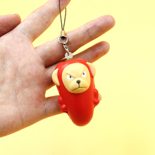 Squishy Monkey Phone Charms Straps Mini Chili Doll Kids Toys 1PCS