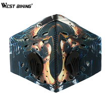 WEST BIKING Cycling Face Mask Cover Training Mask Anti-pollution Face Shields MTB Bikes Bicycle Dustproof Cycling Face Bike Mask