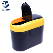 Universal car trunk organizer storage box net trash garbage dust bin Garbage Dust Case Box/Car Storage Case ,HZYEYO,T1014