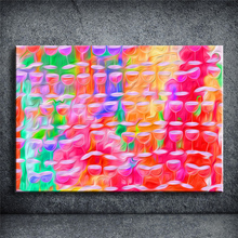 Canvas Painting Art Graffiti Modern Abstract Oil Painting On Canvas Wall Art Gift No Framed home decor craft living room YOQP237(China)