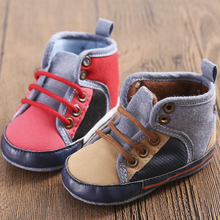 Lastest baby Winter boots Snowfield Keep Warm Cotton Boots Newborn Baby Shoes First Walker children kids boys girls Shoes(China)