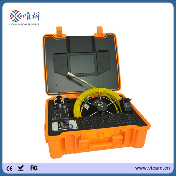 40M sewer inspection camera duct pipe inspection camera with meter counter and DVR V8-3188KC(China)