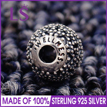 LS High Quality 100%S925 Silver Essence Wellness Charm Beads Fit Original Essence Bracelets Pulseira Essencia.100% Fine Jewelry(China)