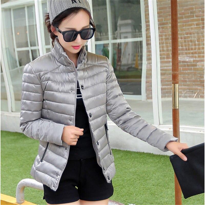 2015 New Winter Thin Down Jacket Coat Women Short Slim Long-sleeved Turtleneck Collar Outerwear Parkas Big Yards WY275Одежда и ак�е��уары<br><br><br>Aliexpress