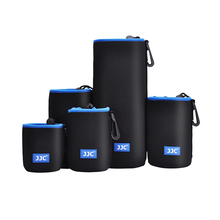 NLP Series Neoprene Camera Lens Pouch Black Blue Lens Bag Small And Big Waterproof Camera Lens Case For Canon/ Sony/ Nikon