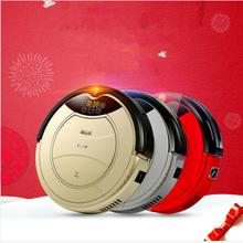 1000 Pa suction Robot Vacuum Cleaner Home Carpet Floor Anti-Collision Anti Fall, Auto Charge, Remote Control, Auto Clean(China)
