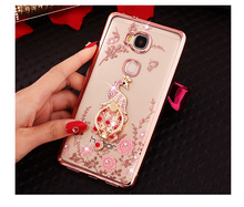 Buy Huawei G8 Case Elegant Bling Crystal Flower Butterfly Soft TPU Cover Huawei G8 GX8 RIO-L01 RIO-L02 RIO-L03 for $2.45 in AliExpress store