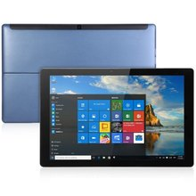 Cube i9 Windows 10 Ultrabook Tablet PC - DEEP BLUE 12.2 inch Intel Dual Core 1.51GHz 4GB RAM 128GB ROM Dual Cameras(China)