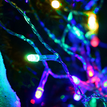3*3M 448LED Curtain LED String Lamp Halloween Christmas Fairy Icicle Light Outdoor Wedding Party Garden Decor Lights & Lighting(China)