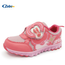 Zebo high Quality Kids Boys Girls Running Sneakers Breathable Air Mesh Fashion Brand Footwear Children Boy Girl Sports Shoes
