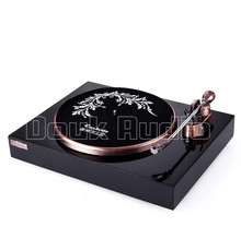 Douk Audio HiFi MM Vinyl Record Player Retro Stereo LP Turntable with Phono Pre-Amplifier