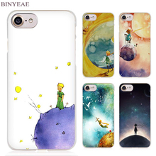 BINYEAE The Little Prince and the Fox Clear Cell Phone Case Cover for Apple iPhone 4 4s 5 5s SE 5c 6 6s 7 Plus(China)