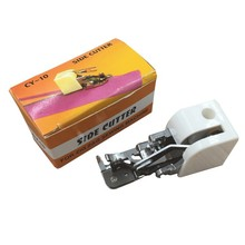 Household Sewing Machine Side Cutter Overlock Presser Foot Feet Sewing Attachment(China)