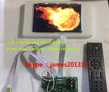 High Quality TV PC HDMI CVBS RF USB LCD Controller Board With 8.9inch HSD089IFW1 1024*600 LCD Panel 100% Test
