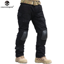 Emersongear Gen2 Combat Pants With Knee Pads BDU Army Airsoft Tactical Gear Paintball Hunting Trousers Multicam ACU Emerson(China)