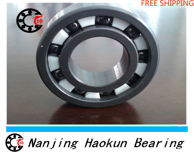 Free shipping 6803 full SI3N4 ceramic deep groove ball bearing 17x26x5mm 61803 bearing High Quallity by Haokun<br><br>Aliexpress