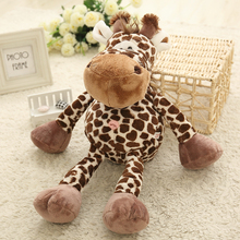 Yesfeier 15/21/35/55cm cartoon deer plush toys tiger Giraffe toys monkey Lion plush doll kids toys baby birthday gift