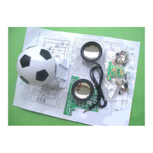 Audio Speakers DIY Mini Portable Soccer Modeling Active Speaker Sets Active Speakers Spare Parts