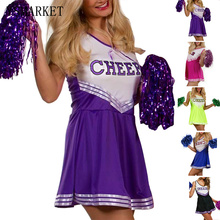Summer New Sexy Stretchy Basketball Teem Cheerleaders Costumes Womens Sleeveless Slim Tank Dress Party Cosplay Costumes S9970