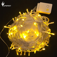 10m 220V LED Light Strap Lamp White Waterproof For Home Garden Christmas Decoration Outdoor Indoor Decor Christmas Tree Ornament(China)