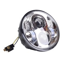"1PC 5.75"" Motorcycle Projector Daymaker HID LED Hi-Lo Beam Light Bulb Motor Headlight  Aluminum Lamp For Motorcycle"