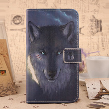 ABCTen Cute Painted Book Design Cell Phone Case PU Leather Flip Protective Cover For Sony Xperia Z L36h C6603