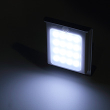 New Generation 16 LED Solar Power Energy Bright Human Body Motion Sensor Induced Garden Security Lamp Outdoor LightBrand New