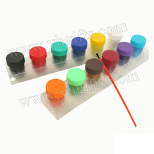 12PCS/LOT,12 color gouache paint,Temperas,Drawing toys,Kindergarten supplies,Non-toxic,Create your own art,Art tools,Wholesale.(China)