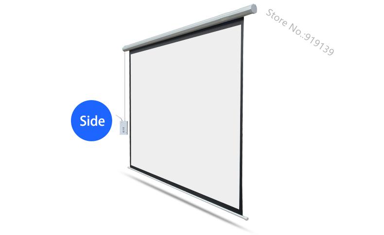 100 inch electric screen pic 7A