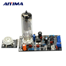 Aiyima 6E2 Tube Drive Pre-amp Tube Amp Board DAC Audio LED Level Indicator Meter VU Low Voltage Magic Eye(China)