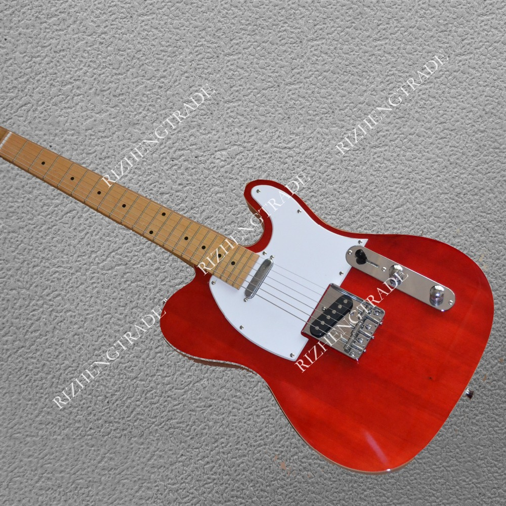 TL Classic red color hot selling guitarra Free shi...