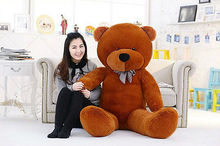 80cm Stuffed Large Teddy Bears Giant Big Huge Plush Valentine Gift ONLY COVER