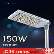 150w led street light. IP67 . irradiation direction adjustment 180 degree, mounting on 60mm pole. Haomer LD3B series Streetlight(China)